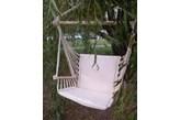 Huśtawka ogrodowa - Miloo - hamak jasny