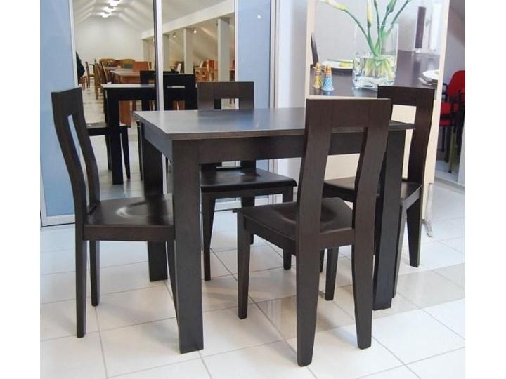 black red white stoły krzesła do kuchni