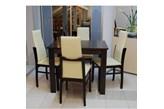4 szt. krzesło TOP firmy BRW + stół 90/70