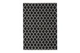 Linie Design Arifa Black Dywan Wełniany Ręcznie Tkany Czarny 160x230 cm - 061105