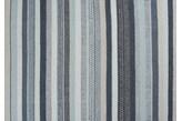 Linie Design Mariko Blue Dywan Wełniany Ręcznie Pleciony Pasy Niebieski 170x240 cm - 485405