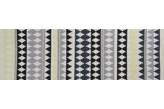 Linie Design Nantes Lime Dywan Bawełniany Pleciony Czarno-Limonkowy 80x150 - 476660