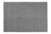 Linie Design Tile Wh/Black Dywan Wełniany Ręcznie Pleciony Biało-Czarny 140x200 cm - 480104