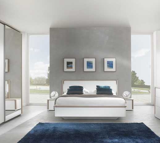 Nowoczesna sypialnia Messina H78 - Zestawy mebli do sypialni - zdjęcia, pomysły, inspiracje ...