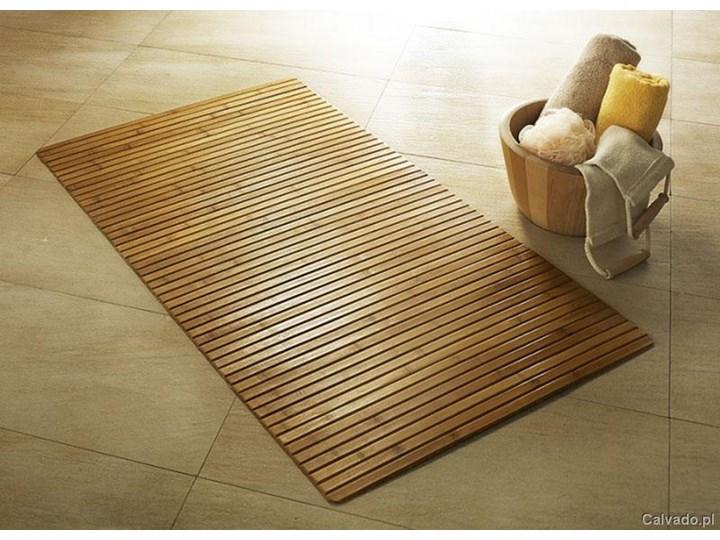 Mata Do Sauny łazienki 50x80 Bambus
