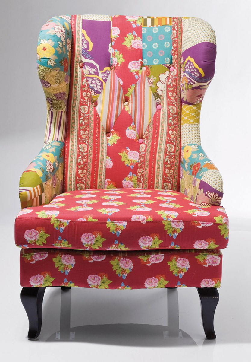 Kare design fotel patchwork fotele zdj cia pomys y inspiracje homebook Kare fotel