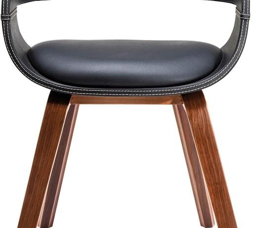 Kare design krzes o costa walnut krzes a zdj cia for Kare design stuhl costa