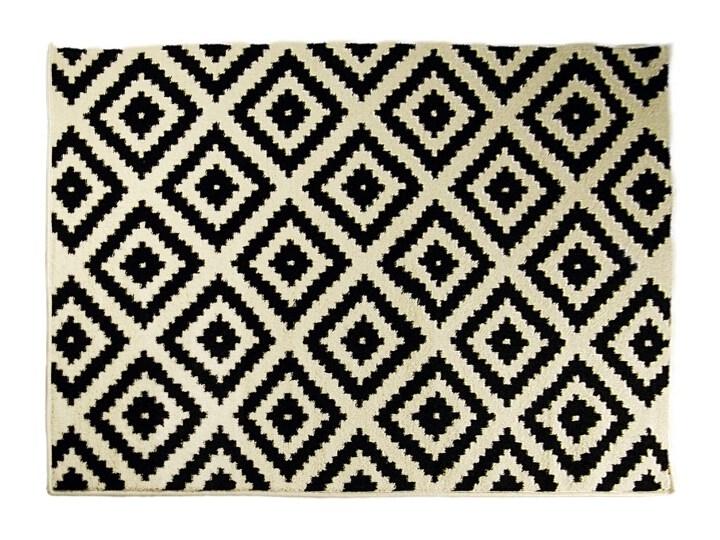 Dywan Mono 70x140cm 420 Biało Czarny Family Fabrics