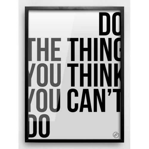 Motywacja // Do The Thing  40x50cm