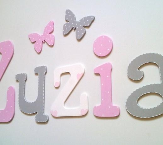 Dodatkowe literki do pokoju dziecka - pomysły, inspiracje z homebook JX88
