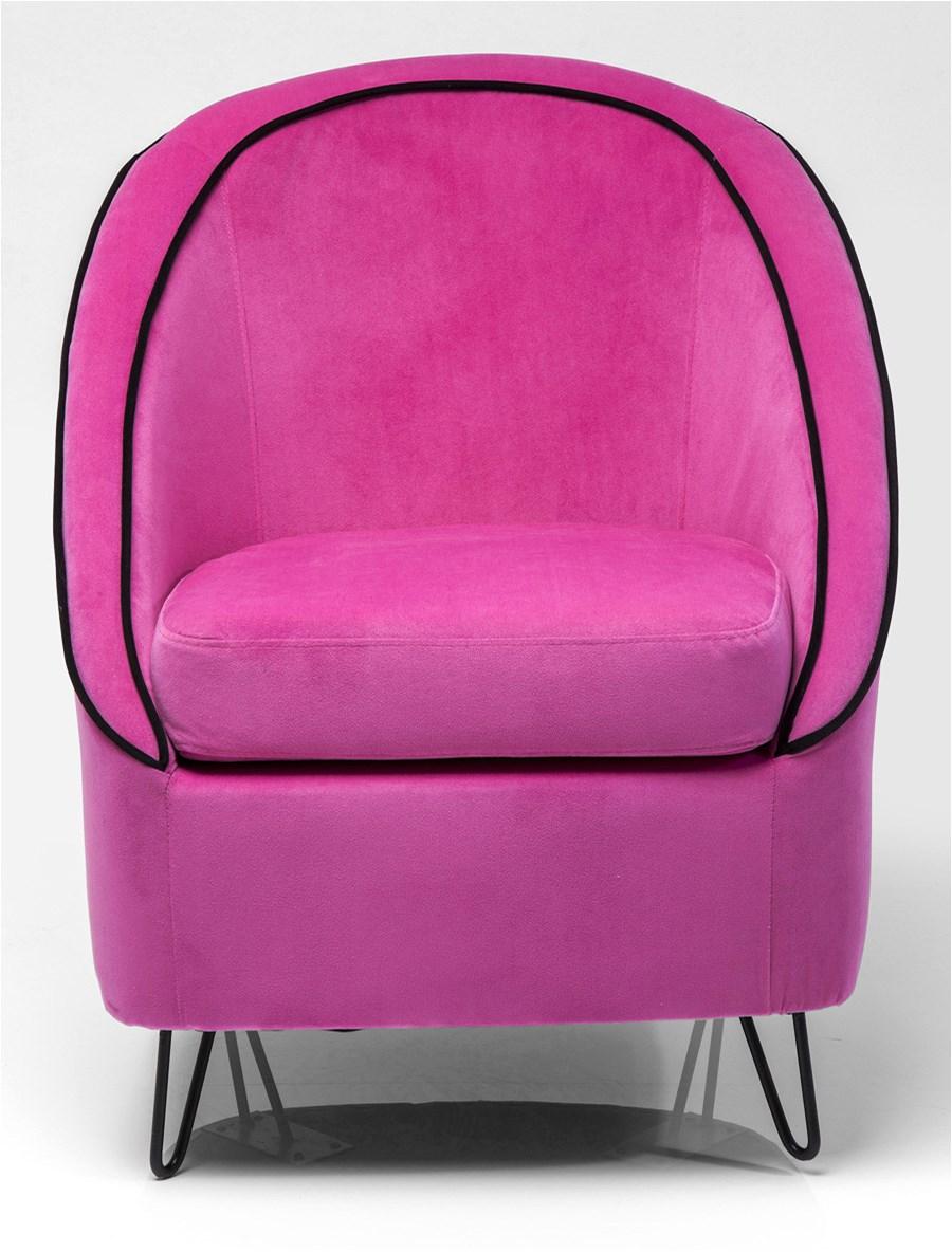 Kare design fotel loft pink fotele zdj cia pomys y inspiracje homebook Kare fotel