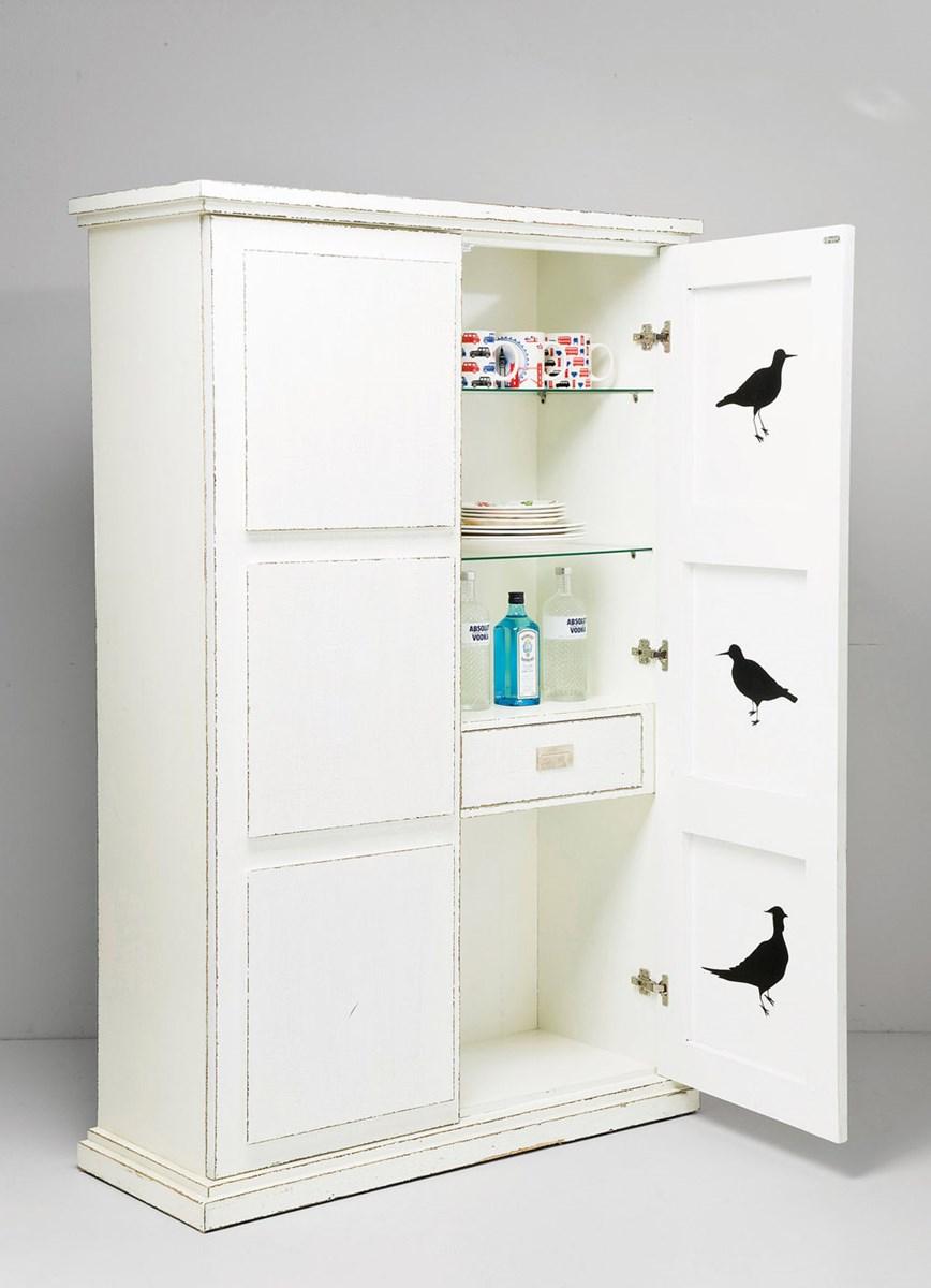 Kare Design Kredens White Raven
