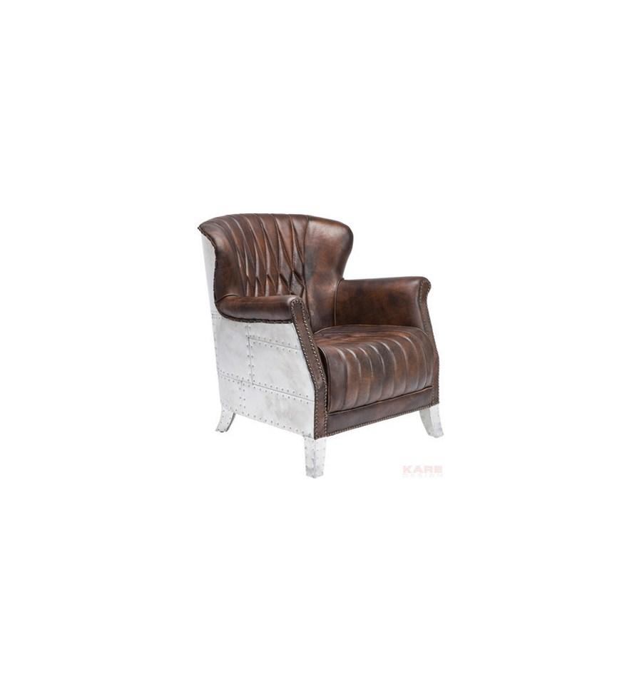 Kare design fotel captain brown fotele zdj cia pomys y inspiracje homebook Kare fotel