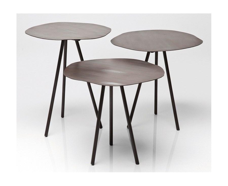 Tisch Epoca Tube ~ Kare design  Stolik Epoca Tube (zestaw trzech)  Stoliki i ławy  zdjęcia,