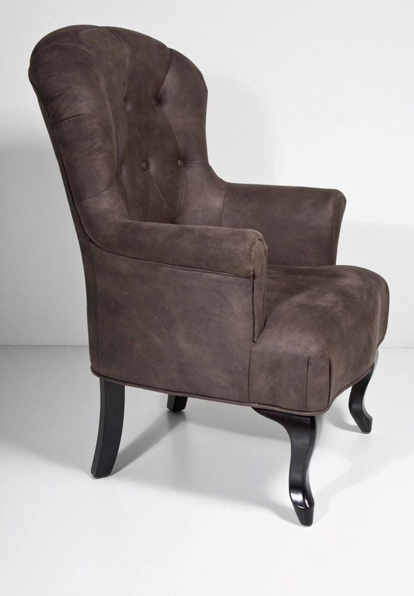 Kare design fotel cafehaus brown suede fotele zdj cia pomys y inspiracje homebook Kare fotel