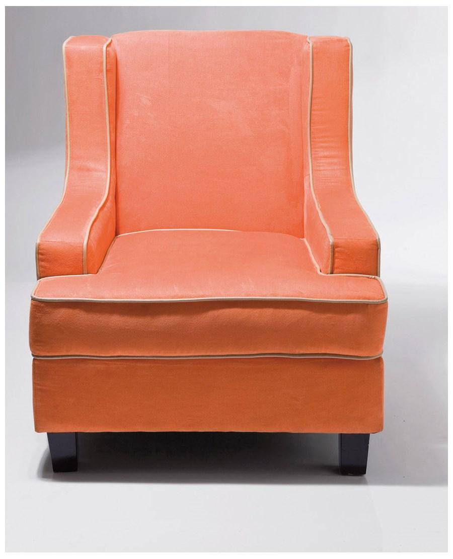 Kare design fotel embassy orange fotele zdj cia pomys y inspiracje homebook Kare fotel