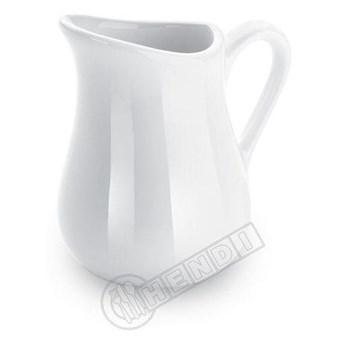 Dzbanek do mleka z porcelany (komplet 2 sztuk) - kod 786451