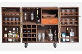 Barek Lodge brązowy Kare Design 76359