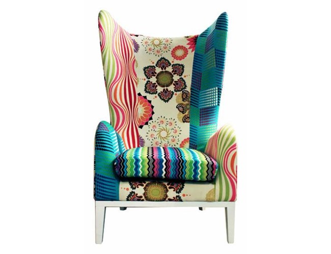 FOTEL PATCHWORK - SERIA LIFE STYLE