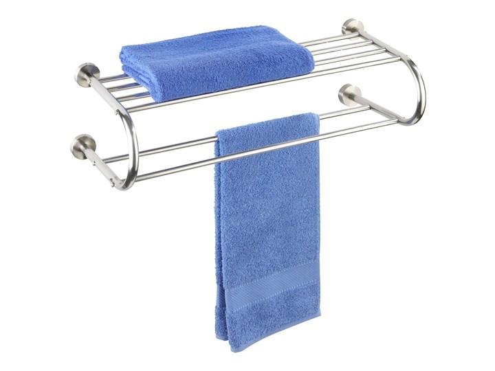 Przeznaczenie Wieszaki na ręczniki Wieszak na ręczniki FASTRO + półka łazienkowa, 2 w 1, WENKO Wieszaki i uchwyty łazienkowe