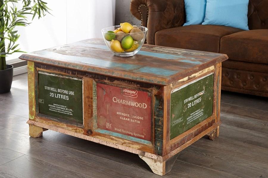 Stolik kawowy skrzynia coffer stoliki i awy zdj cia for Wohnzimmertisch 90x90