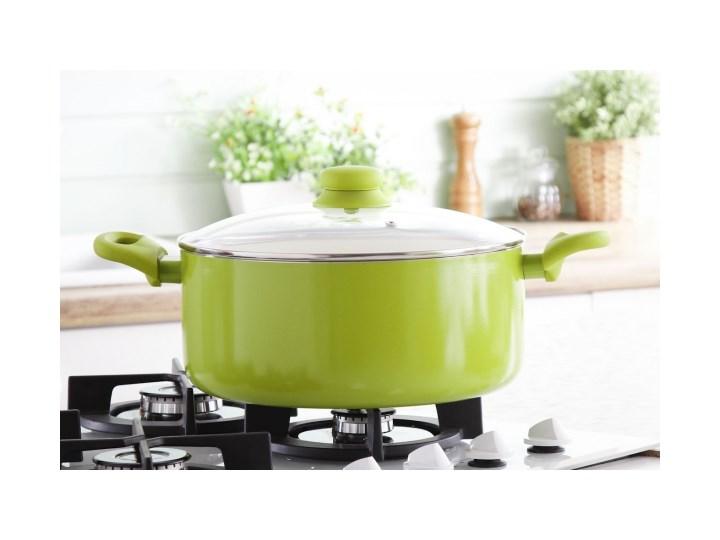 Garnek Z Powłoką Ceramiczną Ambition Fusion Fresh Green 63 L