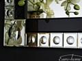 LUSTRO 13TM124S 80x120cm ścienne szkło Prostokątne Styl Nowoczesny