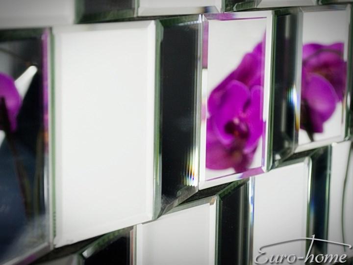 Lustrzana geometryczna dekoracja ATM019 Nieregularne Lustro bez ramy Ścienne Kategoria Lustra