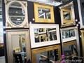 LUSTRO 2231 90x150cm COUNTRY GOLD drewno szkło Prostokątne ścienne metal Styl vintage