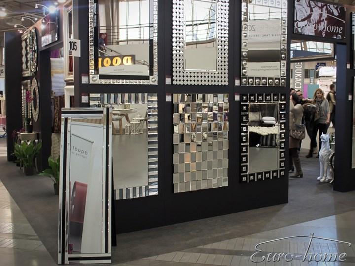 Lustrzana geometryczna dekoracja ATM019 Lustro bez ramy Ścienne Nieregularne Pomieszczenie Sypialnia