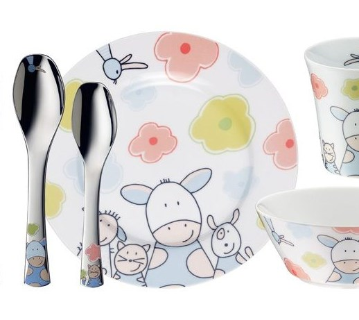 Zestaw Obiadowy Dla Dziecka Auerhahn Farmily 7 Szt 61000138