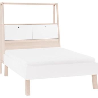 Łóżko 2-osobowe ze szczytem z pojemnikiem Spot Young