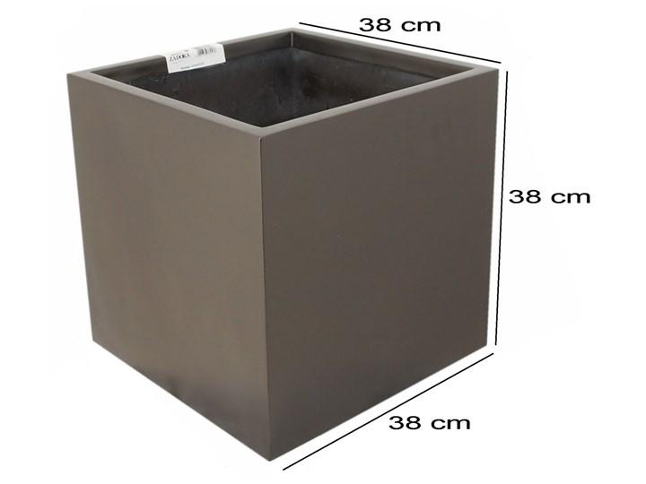 Donica Z Włókna Szklanego D92b Brąz Metalik