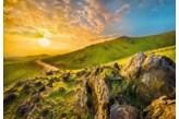Fototapeta Komar 8-525 Landscape - Mountain Morning