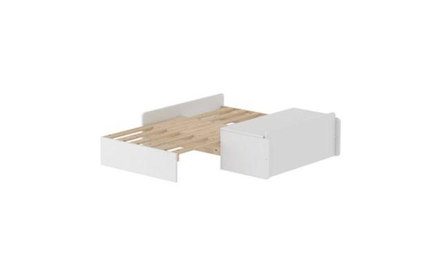 Sofa Rozkładana Mdf Do łóżka Flexa White Biała Bez Materaca