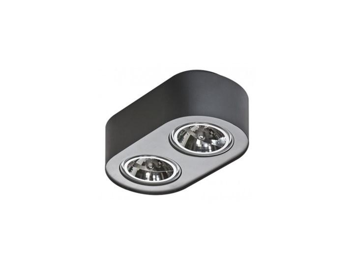 Materiał metal AZzardo Lampa techniczna Pino 2 Black Oprawy oświetleniowe