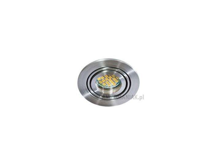 Materiał metal AZzardo Lampa techniczna Carlo 1 Aluminium Oprawy oświetleniowe