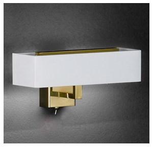 tekstylna lampa cienna led rune z bia ym kloszem lampy cienne zdj cia pomys y inspiracje. Black Bedroom Furniture Sets. Home Design Ideas