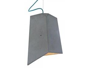 Lampa betonowa lampa loft Cliff turkusowy kabel