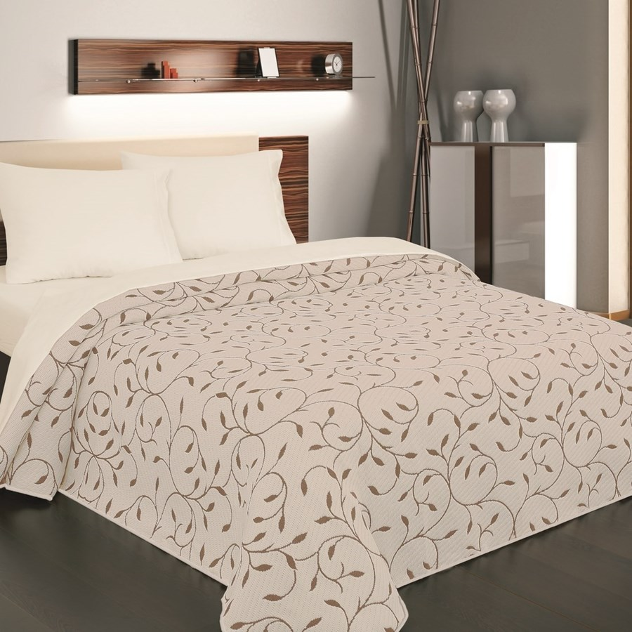 forbyt narzuta na ko indiana br zowa 240 x 260 cm narzuty zdj cia pomys y inspiracje. Black Bedroom Furniture Sets. Home Design Ideas