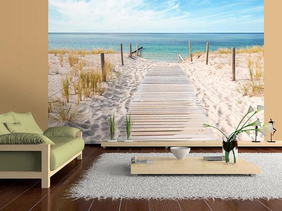 Bimago fototapeta wakacje nad morzem fototapety for Carta da parati casa al mare