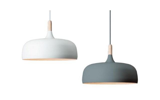Lampa wisząca ACORN Northern lighting Biały
