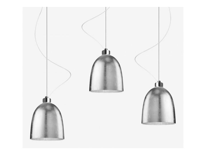 Lampa wisząca AWA 3S glossy metal SOTTO LUCE Klosz czarny Złoty