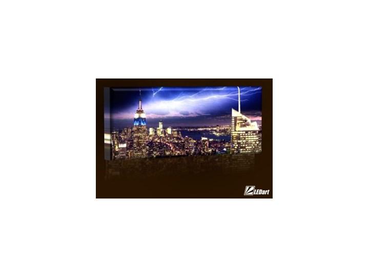 Nowy Jork Design Obraz Podświetlany Led Panorama Obrazy Zdjęcia