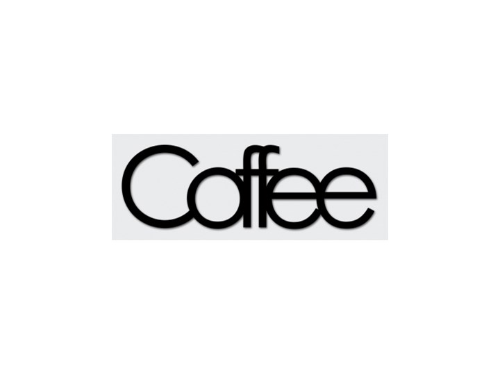 36bd1bd8b836ce Napis na ścianę dekoracyjny DEKOSIGN COFFEE - rabat 10 zł na pierwsze zakupy !