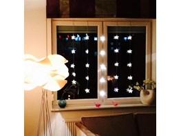 ozdoby świąteczne świecące gwiazdki   pomysły, inspiracje z homebook