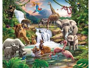 Tapeta Walltastic 3D Jungle