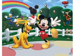 Tapeta Walltastic 3D Mickey Mouse