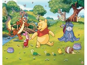 Tapeta Walltastic 3D Winnie The Pooh