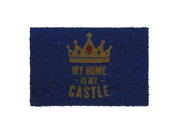 My home is my castle Włókno kokosowe Kolor Granatowy